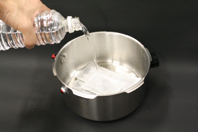 バロクック加熱式ポータブル鍋