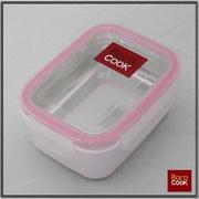 【アウトドア・レジャー用】BAROCOOK-JAPAN ■BC-002 バロクック加熱式弁当箱【角形/Sサイズ(W117xH65xD153mm)】 容量320ml